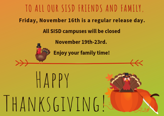 Thanksgiving Break! Featured Photo