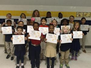 November Star Students