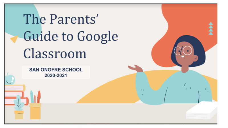 Google Classroom Parent Guide Featured Photo