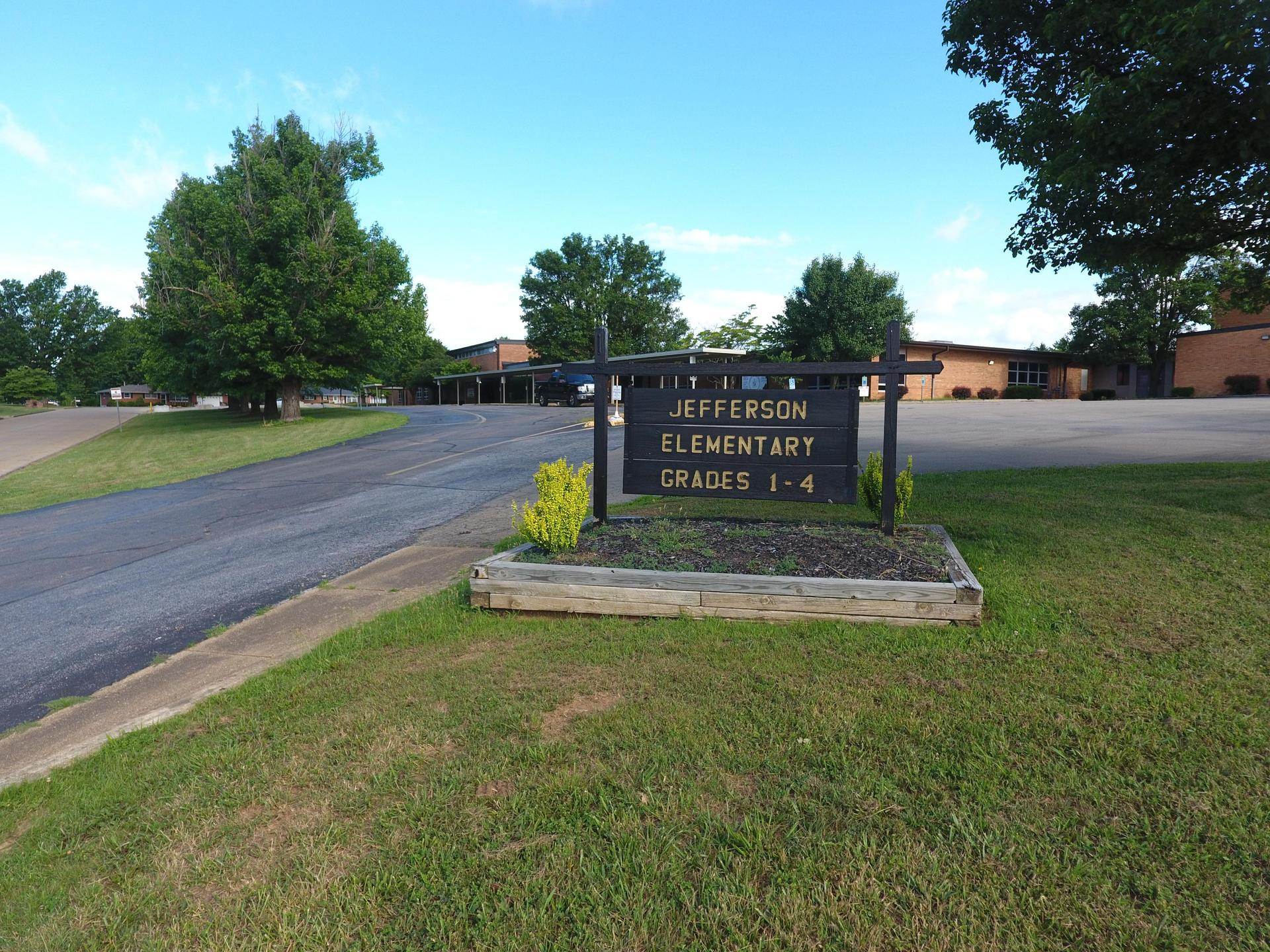 Jefferson Elementary Sign