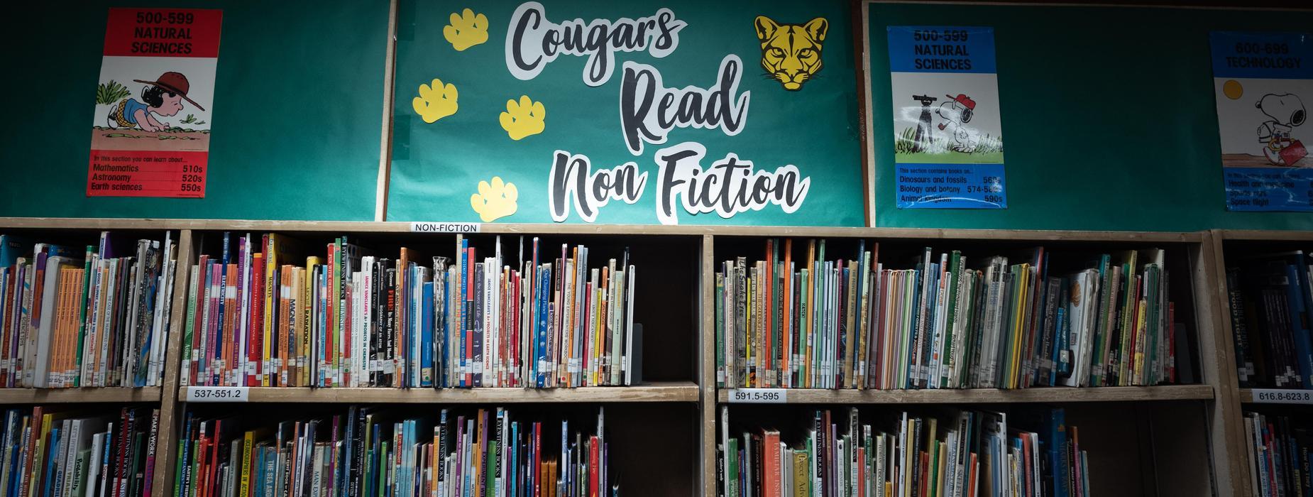 Baldwin Library Non Fiction Section
