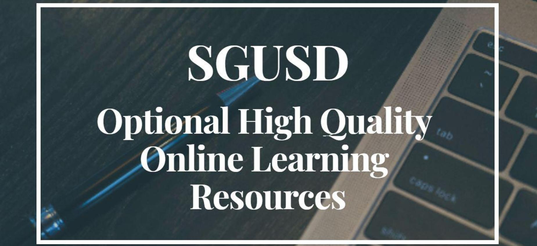 Optional Online Resources