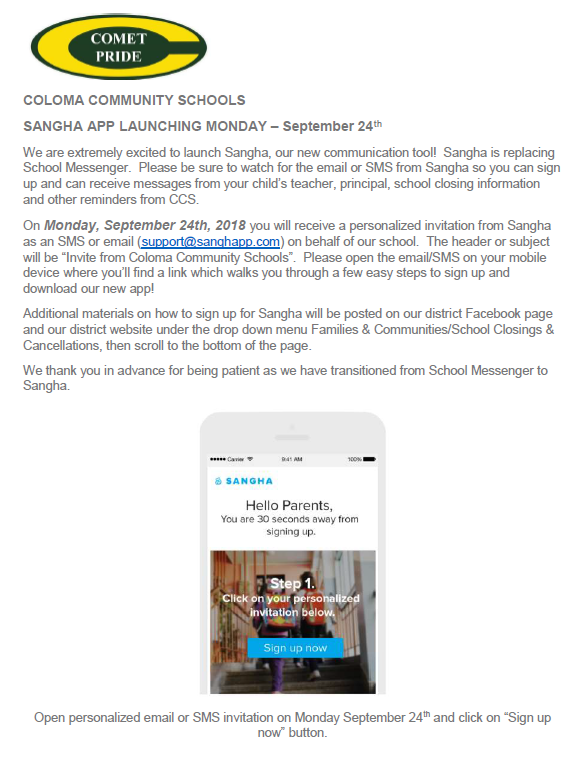 Sangha App Launches September 24th 2018 Thumbnail Image