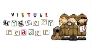 Virtual mystery reader graphic