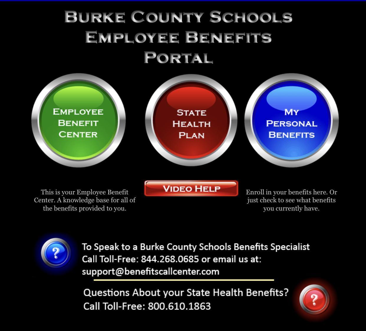 My Burke Benefits Portal