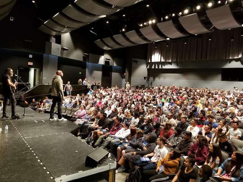 Kwame Alexander Rocks GVHS Students Featured Photo
