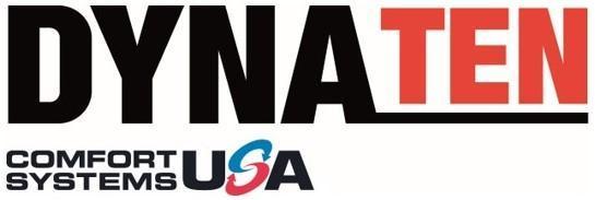DYNA TEN Comfort Systems USA Logo