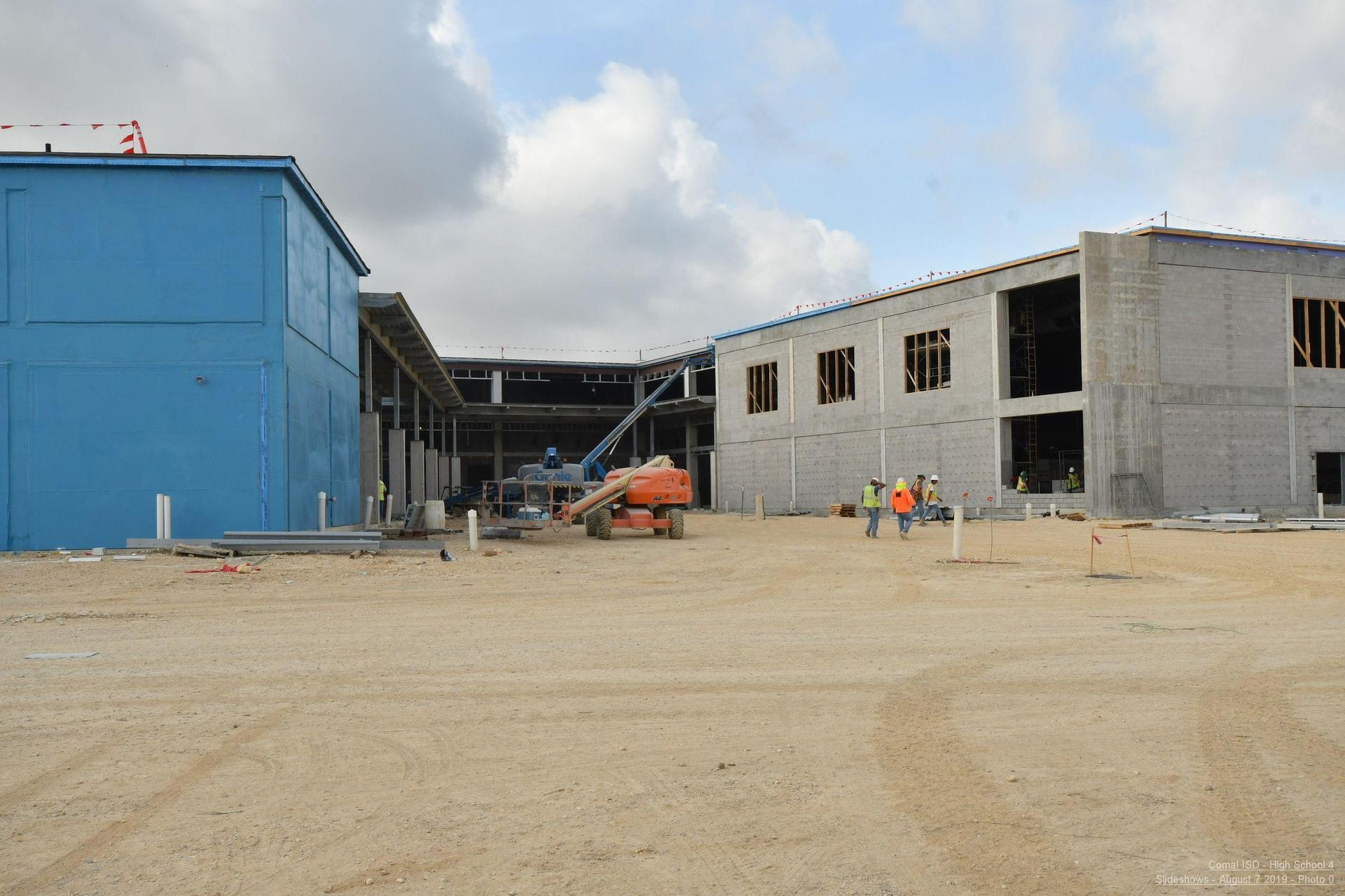 Davenport under construction