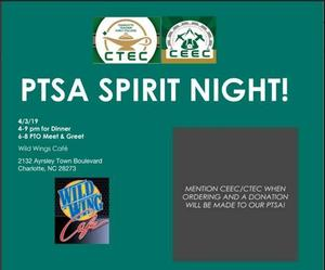 PTSA Spirit Night
