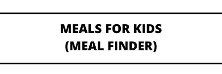 Meal Finder