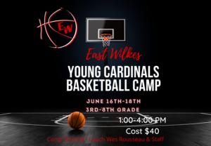 Boys Basketball Camp June 16-18 Thumbnail Image