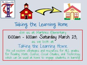Flyer for parent session on March 23rd during Saturday school.