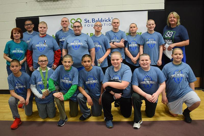 Central supports St. Baldrick's with Big Shave Thumbnail Image