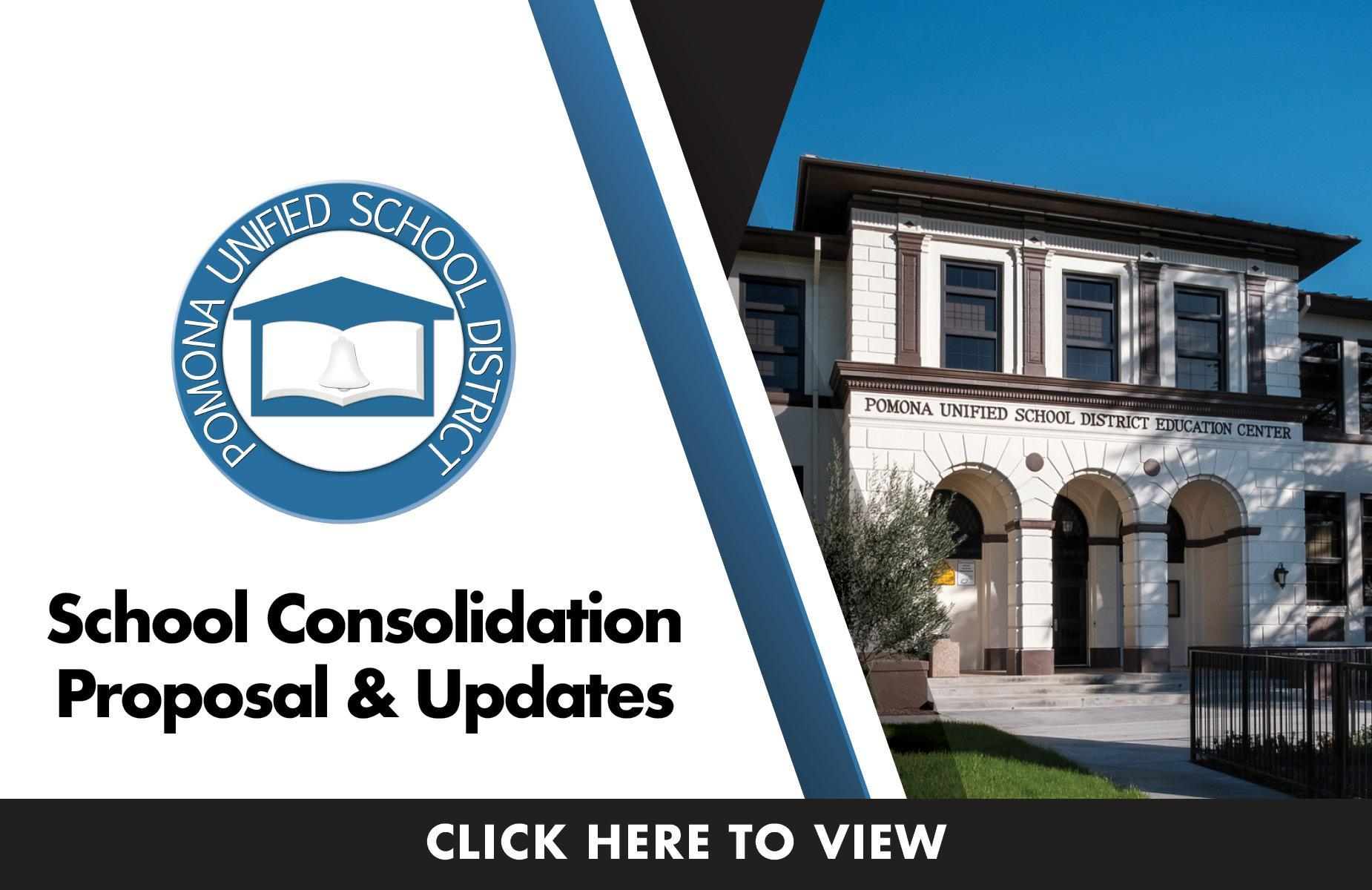 School Consolidation Proposal & Updates