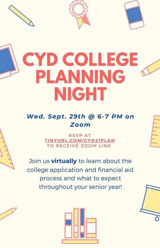 CYD College Planning Night Featured Photo