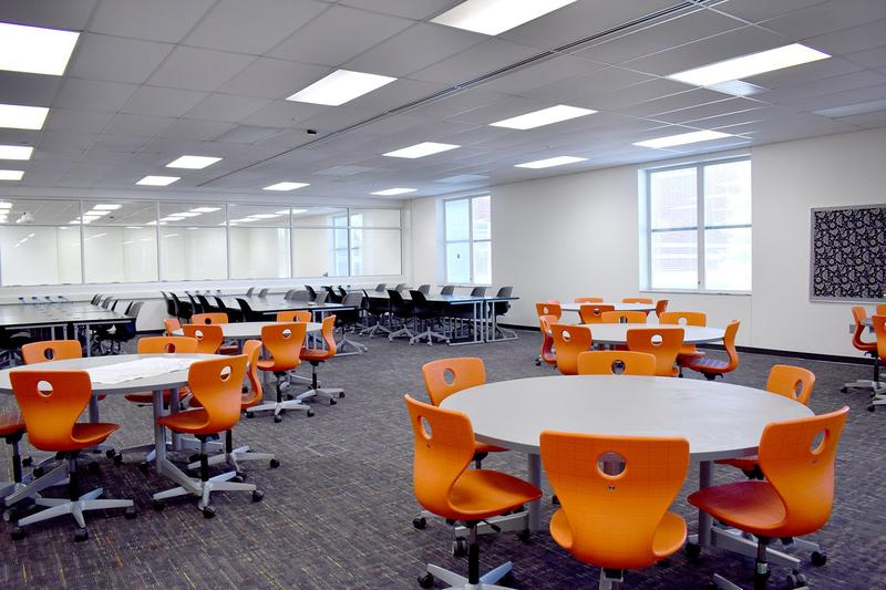 NHS Classroom with Flexible Furniture