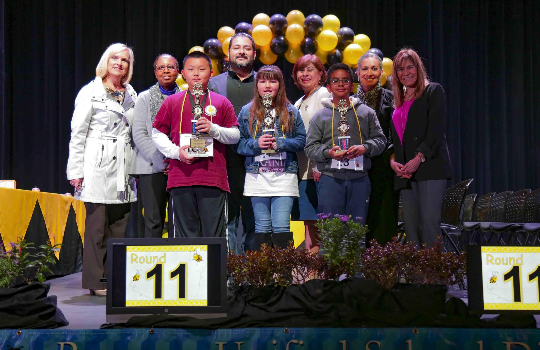 Pomona Unified School District's 2020 Spelling Bee! Congratulations to our student winners! 1st Place – @PanteraPUSD Charles Chang, Fifth Grade #proud2bepusd #spellingbee #spelling #PUSD #PomonaUnified #CityofPomona #CityofDiamondBar