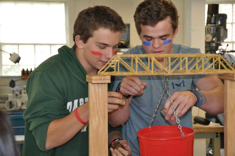 Bay's Engineering Design Class Students Break School Record for Strongest Truss Bridge Featured Photo