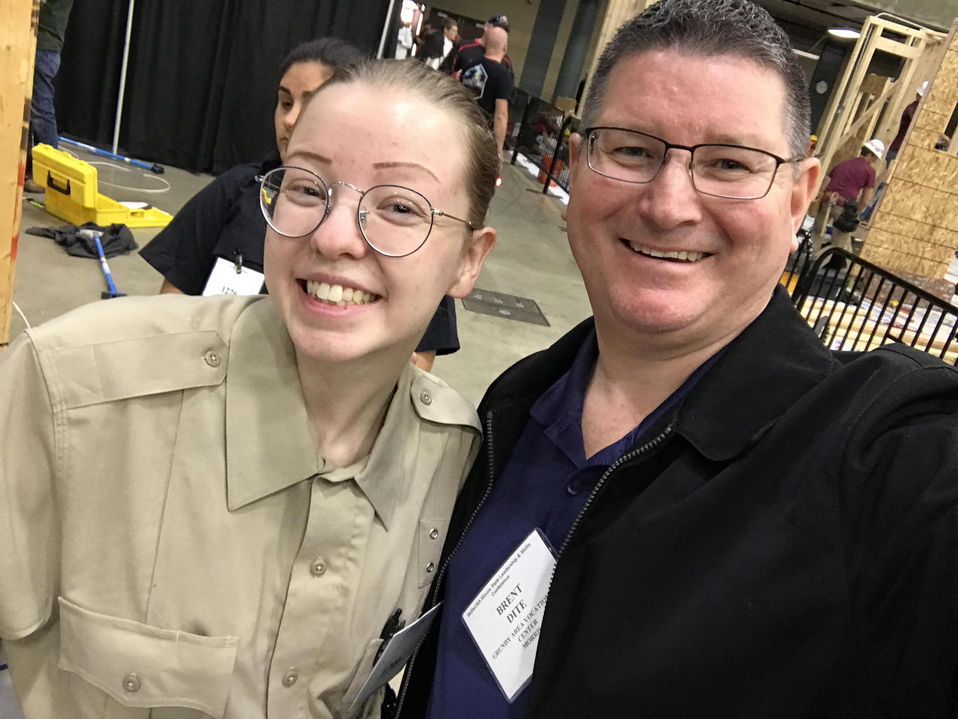 Skills USA 2019 Traffic Stop Competition