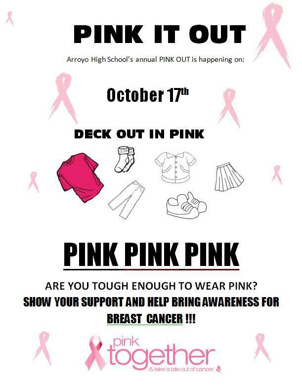 Pink Out Tomorrow Featured Photo