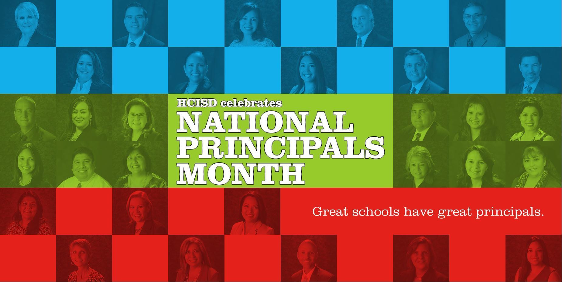 HCISD Celebrates National Principals Month