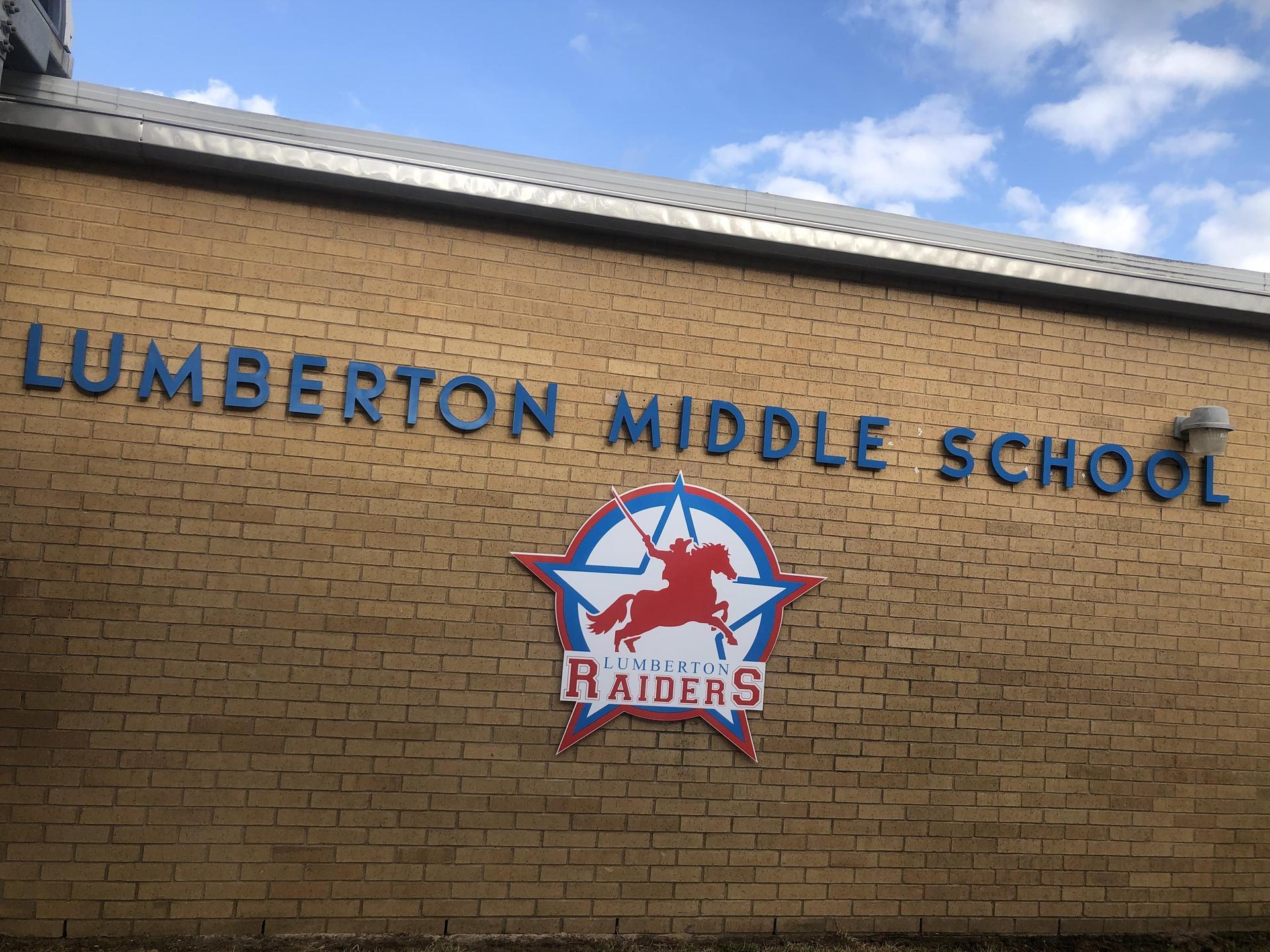 Lumberton Middle School Signage