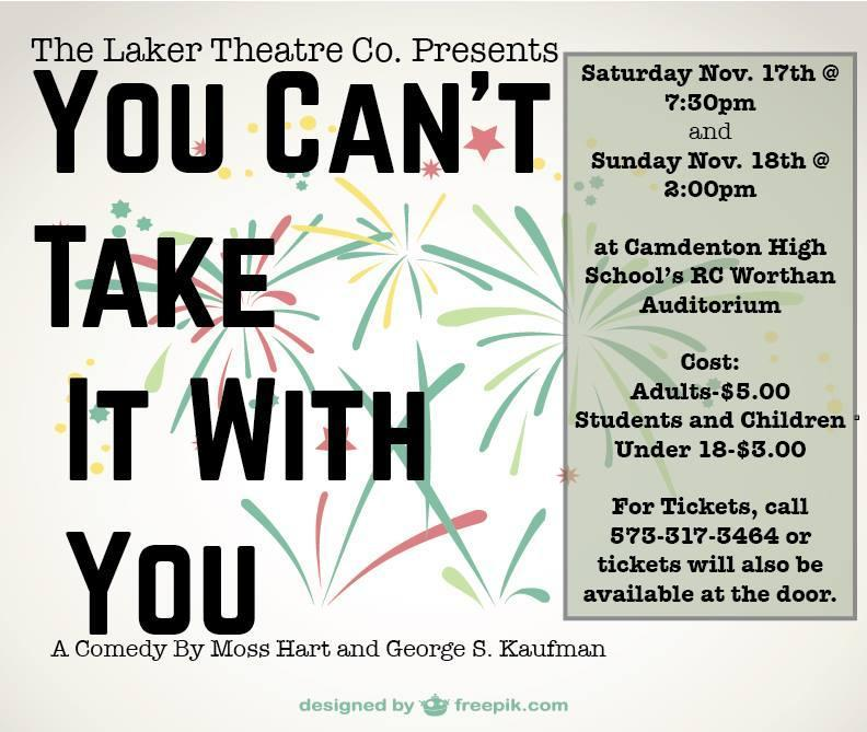 The Laker Theatre Co. Presents...You Can't Take It With You - the Comedy Featured Photo