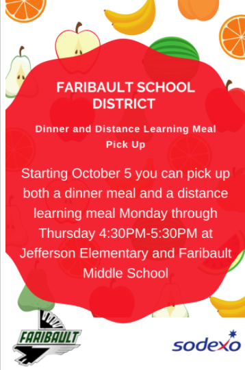 Additional Distance Meal Pick-Up Opportunity