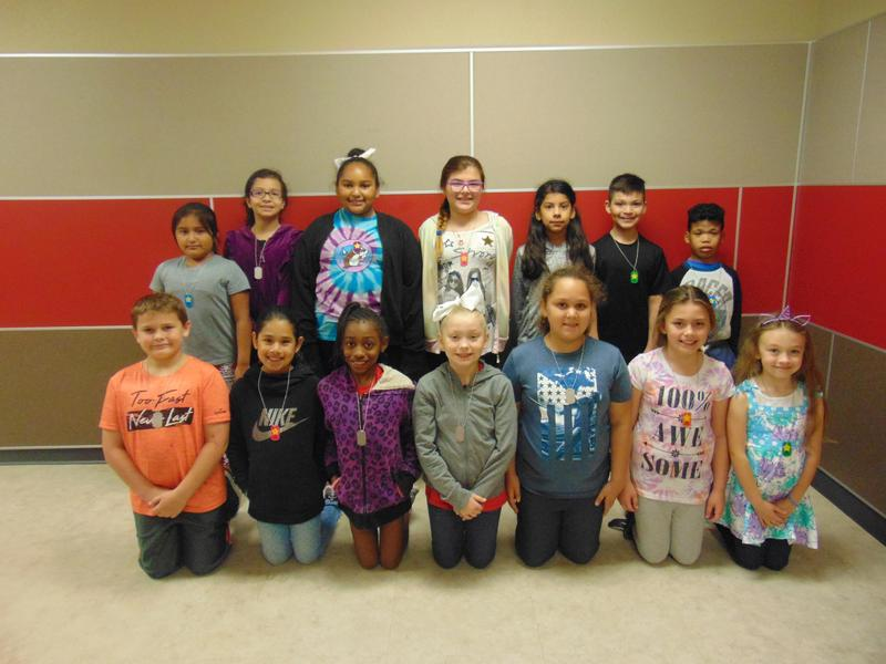 3rd Grade April Student of the Month Featured Photo