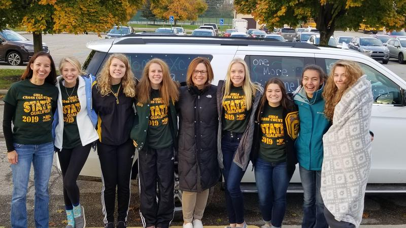 Girls Cross Country Heads to State Thumbnail Image