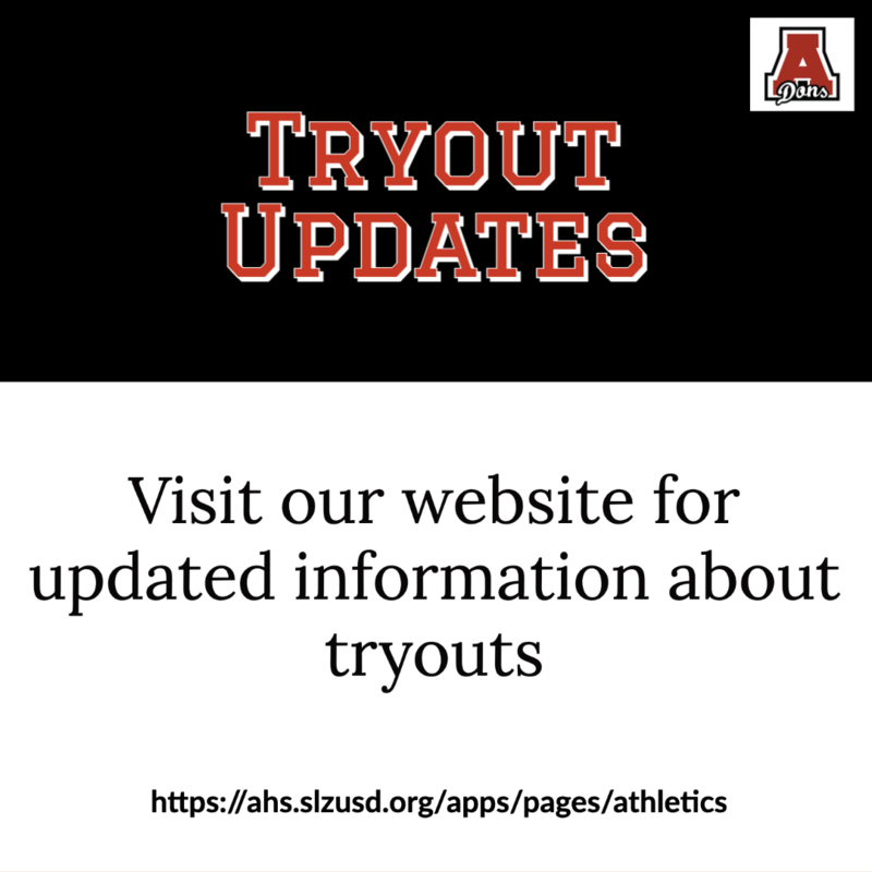 Tryout Updates Featured Photo