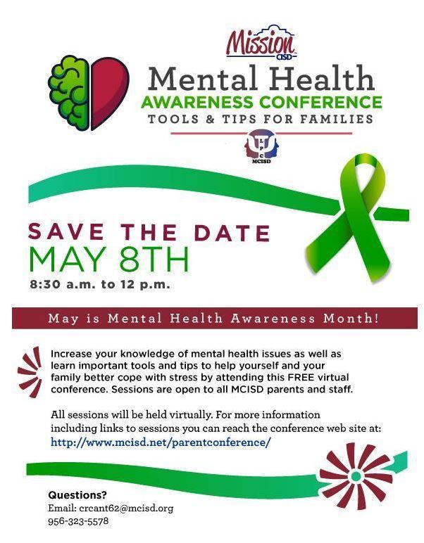 Mental Health flyer for conference