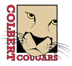 Colbert Cougar Logo