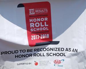 honor roll posting