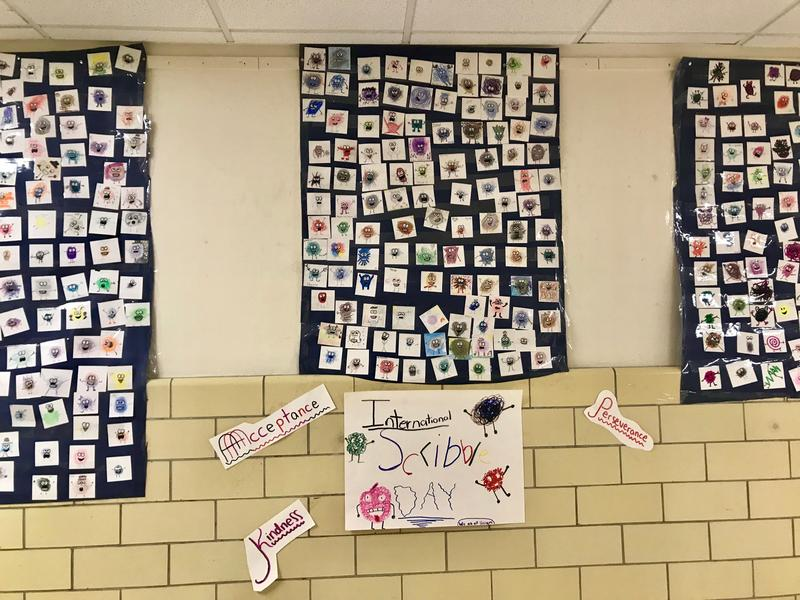 Smalley School celebrates National Scribble Day Featured Photo