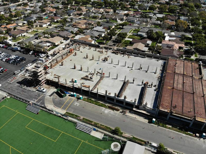 Parking Structure Construction Update Featured Photo