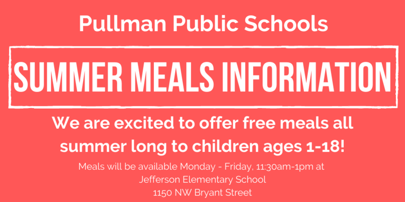 Summer Meals Available Through August 21st! Thumbnail Image
