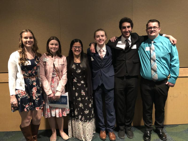 Six Medical Lake High School students were recognized as Spokane Scholars on April 15, during the annual banquet in Spokane. Thumbnail Image