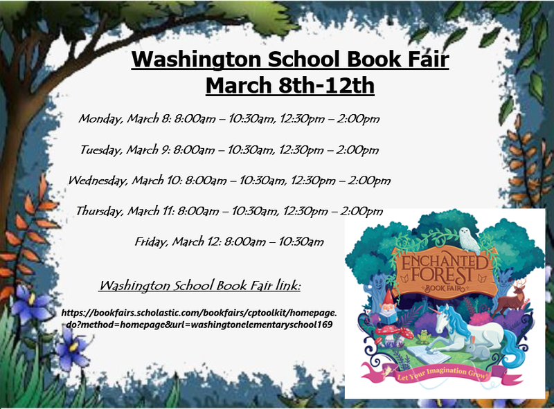 Book Fair March 8th-12th Featured Photo