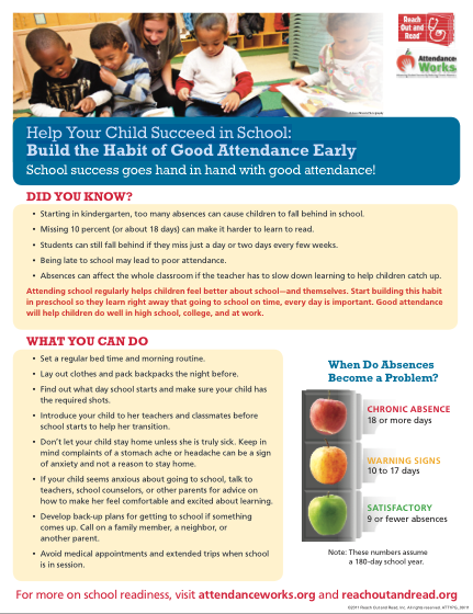 Build the Habit of Good Attendance - September is Attendance Awareness Month Featured Photo
