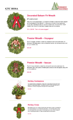 picture of wreaths