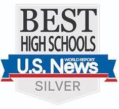 US News & World Report Best High Schools in America Silver Ranking Logo