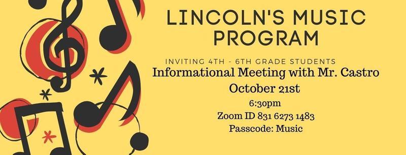 Music Information Meeting