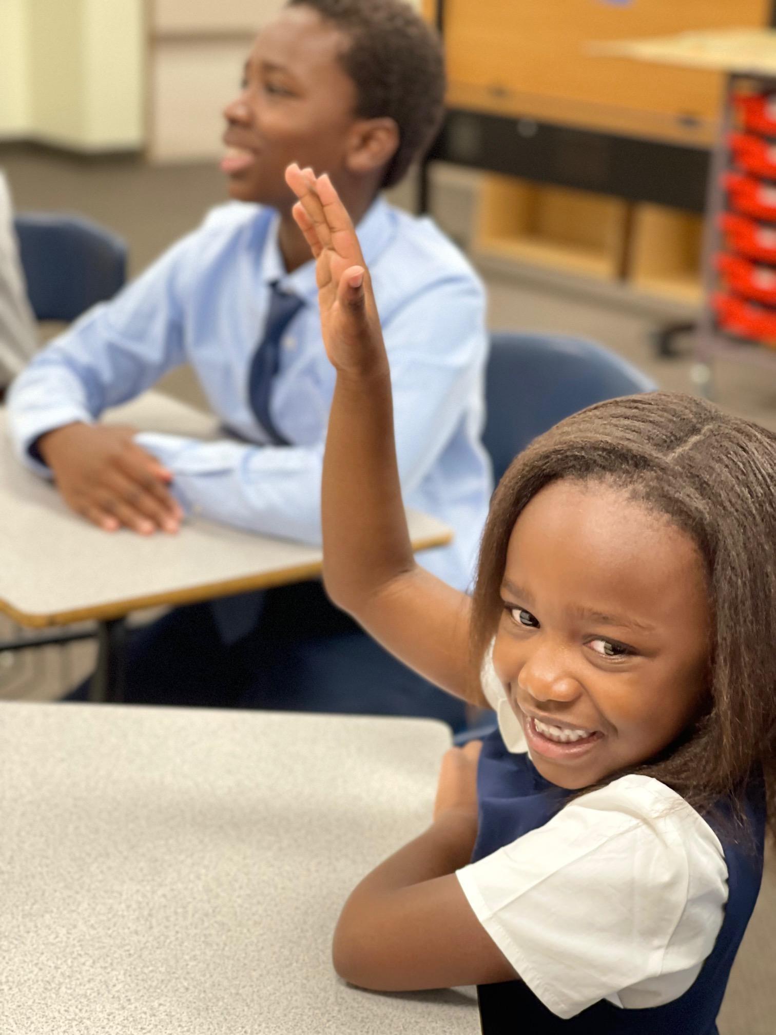 two children in class, legacy preparatory academy best charter school near me