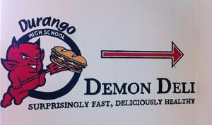 Demon Deli Sign