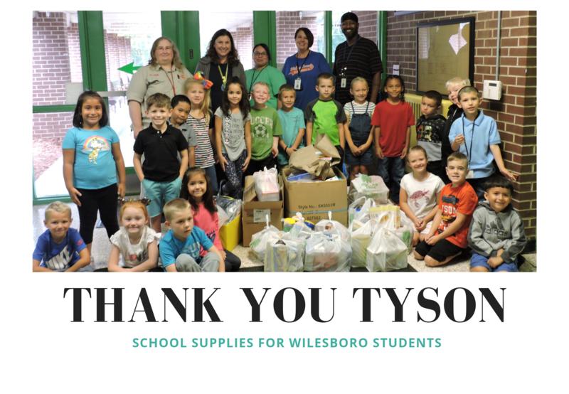 Tyson Employees Help Wilkesboro Students Thumbnail Image