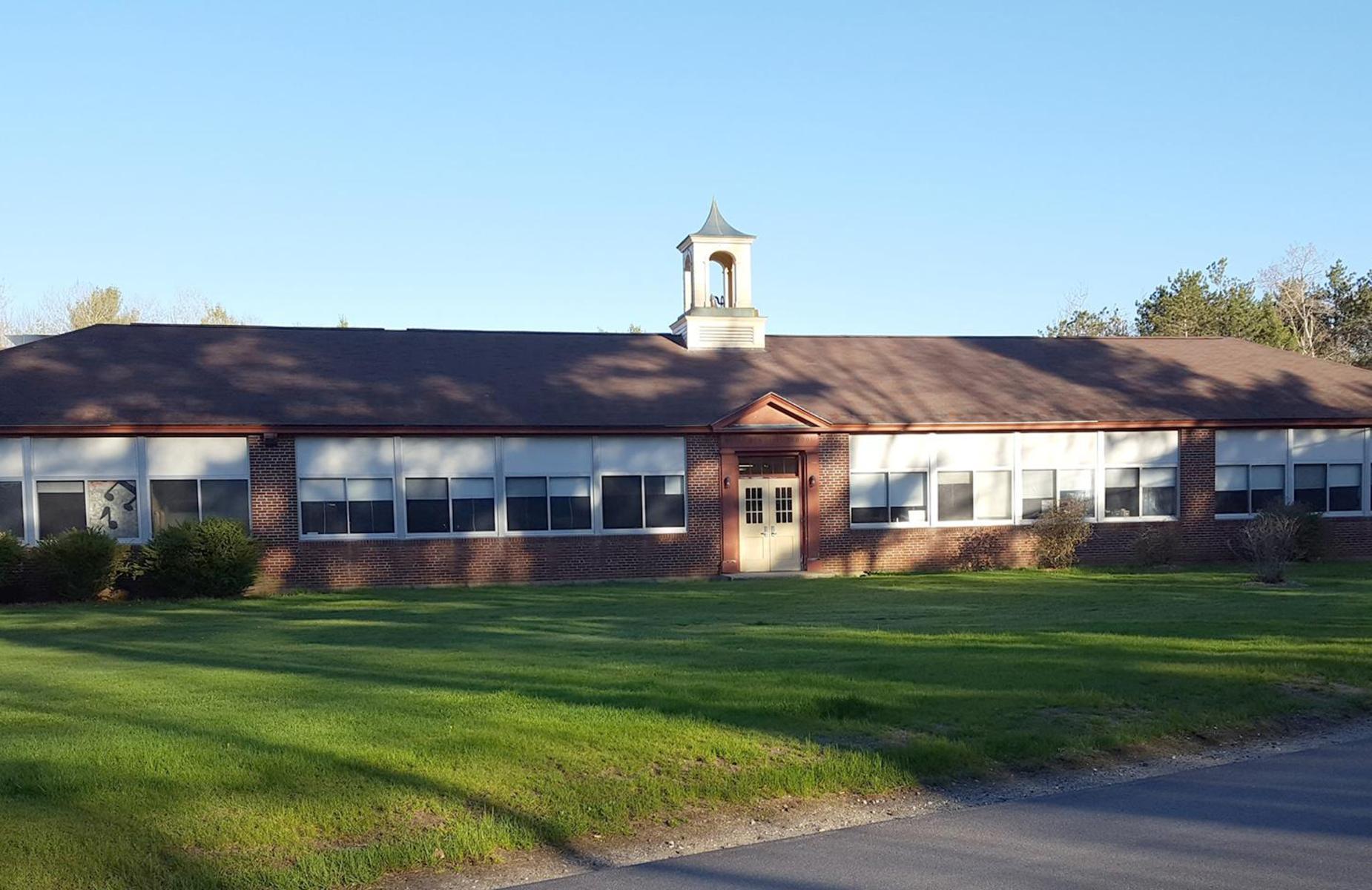 Wells Memorial School Front View