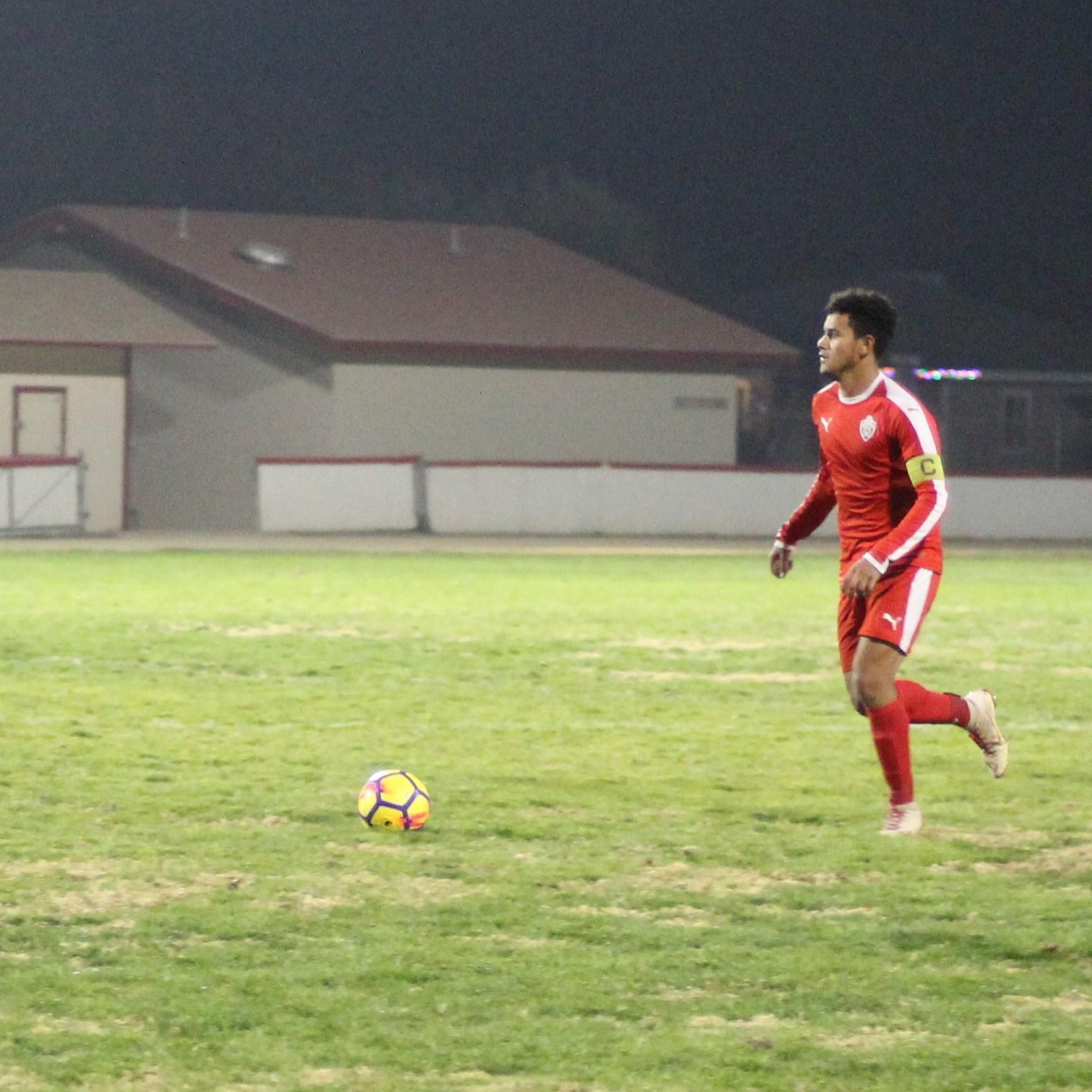 Antonio Ochoa Running with the Ball