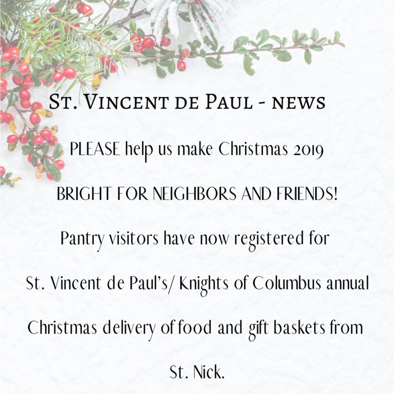 St. Vincent de Paul - News Featured Photo