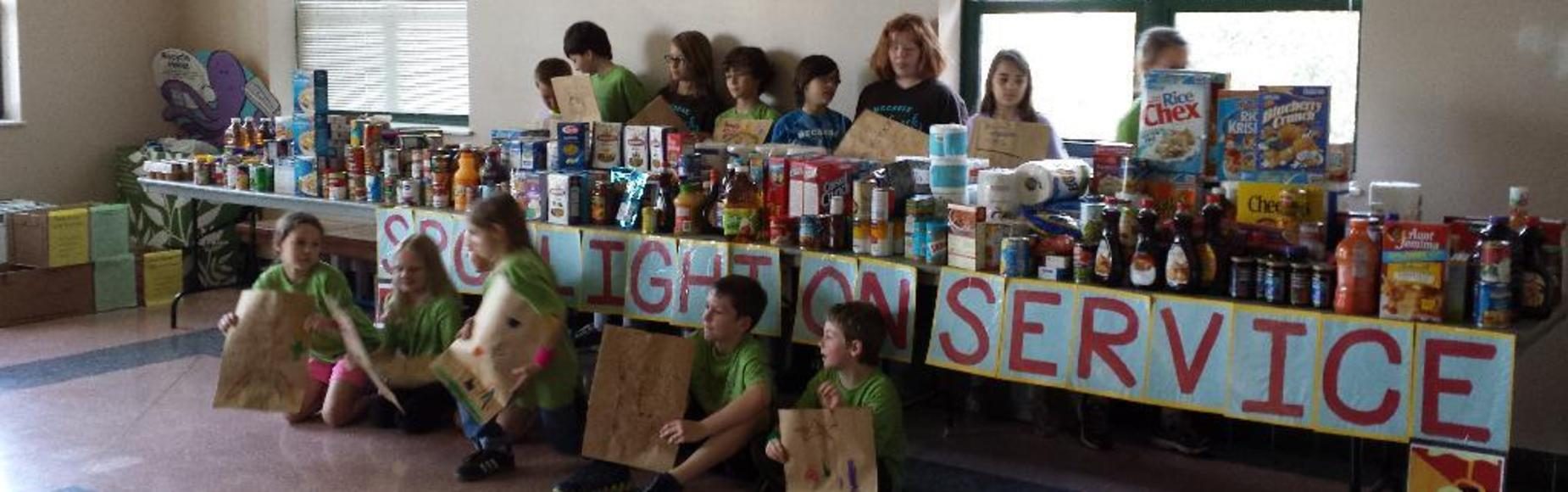 Student Spotlight on Service Project Picture